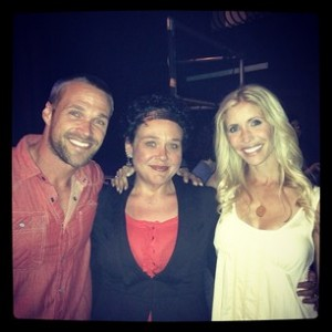 Meeting Chris and Heidi Powell